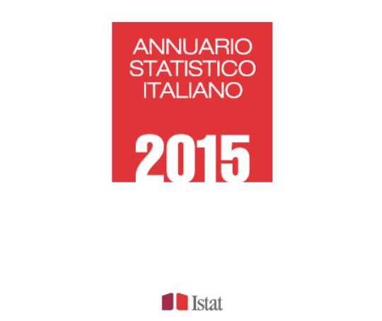 Annuario statistico italiano 2015 Istat